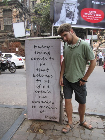 Words of wisdom from Kolkata's finest.